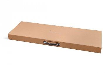 заказать коробку с ручкой большим тиражом