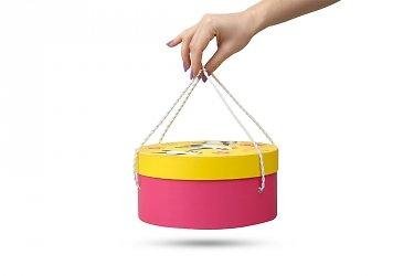 дизайнерские круглые коробки