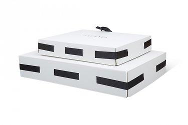 Кашированная vip упаковка из дизайнерских материалов