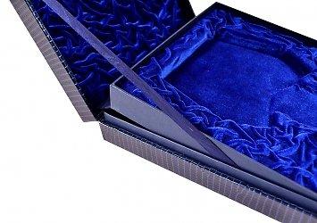Эксклюзивная коробка-трансформер с откидной крышкой