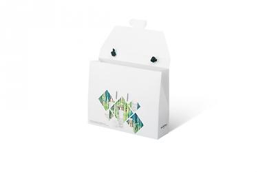 упаковка коробочки - фирменный пакет
