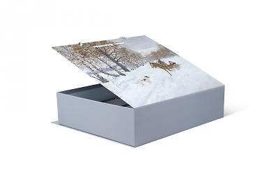 дизайнерская коробка - разработка дизайна и изготовление