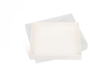 подарочная коробка с прозрачной крышкой
