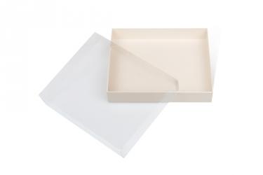 подарочная коробка с прозрачной крышкой дизайнерская