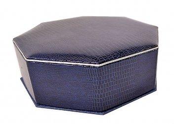 Кашированная восьмиугольная коробка-трансформер для сувениров