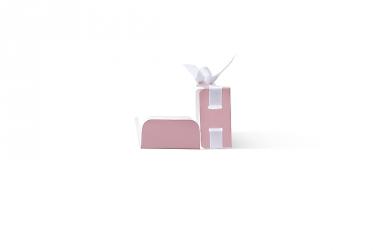 изготовление подарочной упаковки с лентой от производителя