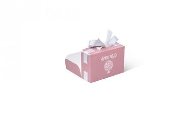 изготовление подарочной коробки большим тиражом дизайнерская