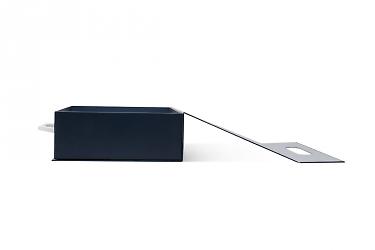 изготовление коробок чемодан с пластиковой ручкой