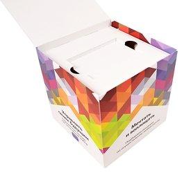 Индивидуальная упаковка-куб для флешки