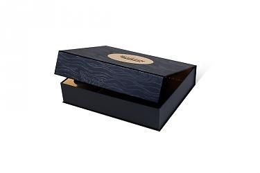 подарочная коробка клапан на магните