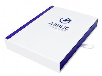 Коробка-пенал с индивидуальным ложементом для диска и флешки