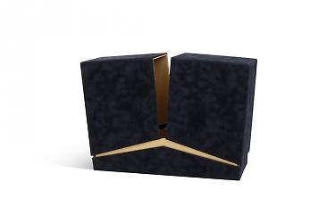 производство коробок из бархатной ткани