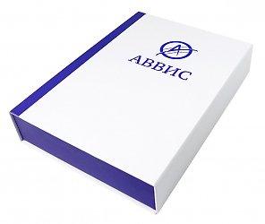 Подарочная коробка с магнитной крышкой и картонным ложементом