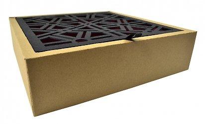 Эксклюзивная упаковка с вырубной крышкой для подарочного набора
