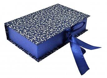 Коробка-книжка с тканевым ложементом