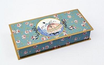 Кашированная коробка крышка-дно — производство кашированной упаковки