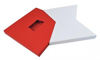 Фирменная упаковка для фотокниги и визитки