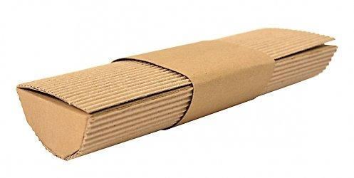Экологичная коробочка для подарка из комбинированных материалов
