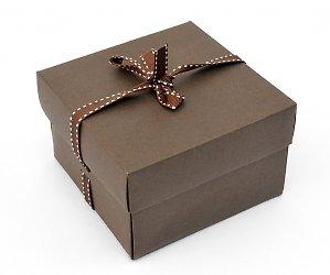 Самосборная картонная коробка для мини-полотенца.