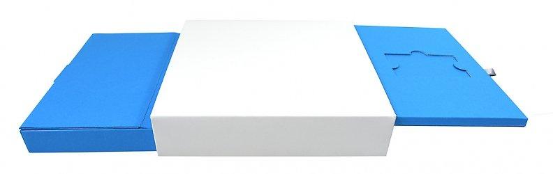 Корпоративная упаковка-слайдер для пластиковых карт