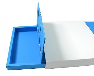 Упаковка эксклюзивная с интерактивным эффектом для пластиковых карт