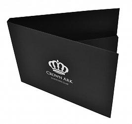 Современная упаковка пластиковых карт из дизайнерского картона