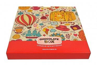 Упаковка дизайнерская для шоколада и пластиковой карты