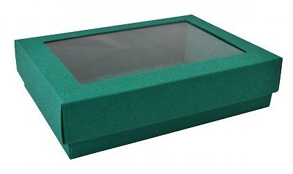 Производство коробочек крышка дно с пластиковым окошком