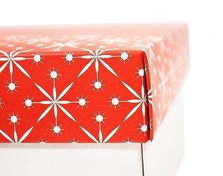 Фирменная коробка крышка дно под бокалы и специи
