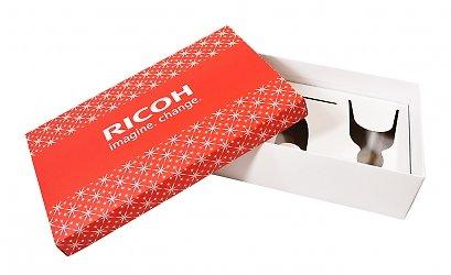 Коробка крышка дно с ложементом для подарочного набора