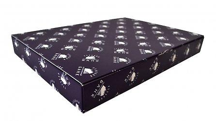 Фирменная коробка-книжка для набора марок и буклета