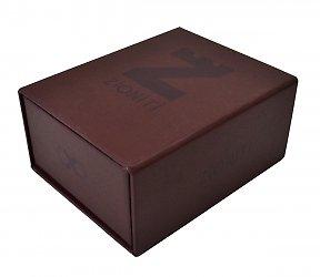 Кашированная коробка-пенал для визитки и флешки, изготовление коробок на заказ