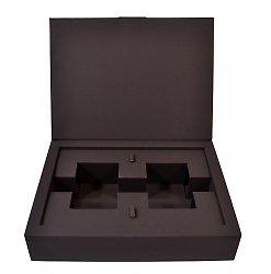 Подарочная коробка, упаковка с картонным ложементом для игры