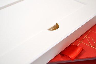 Кашированные коробки с ложементом для сертификата