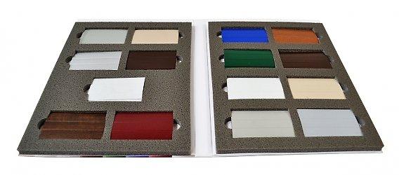 Кашированная упаковка с ложементом для образцов продукции