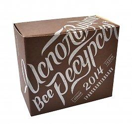 Подарочная упаковка, изготовление коробок из экологичных материалов