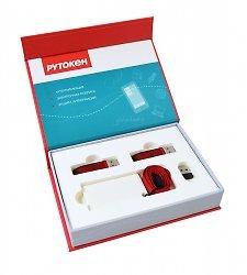 Качественная коробка с ложементом для флешек и USB-брелков