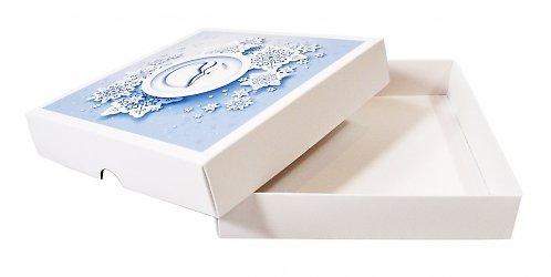 Коробка крышка-дно для сувенира