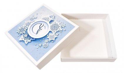 Фирменная коробка, лого нанесено на крышку коробки
