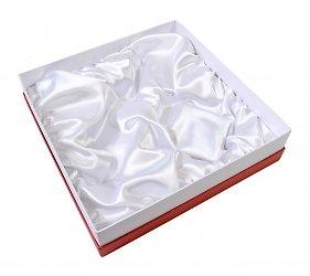 Коробка крышка дно с атласным ложементом