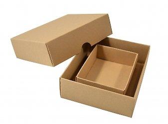Современная упаковка из дизайнерского картона на заказ