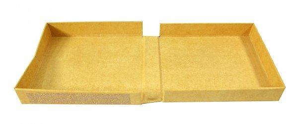 Кашированная коробка с печатью