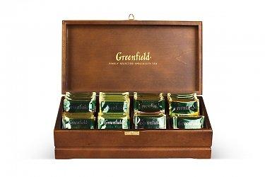 Коробка-шкатулка для чая из дерева