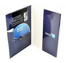 Индивидуальная упаковка для диска, буклета и пластиковой карты