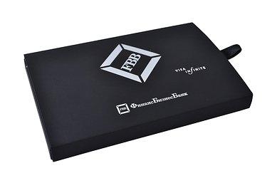 коробка-слайдер из дизайнерского картона премиум класса