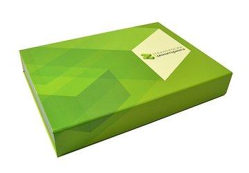 кашированная упаковка для презентационных материалов под заказ