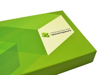Кашированная коробка с клапаном на магните для ПО и комплекта документации в Москве – производство на заказ