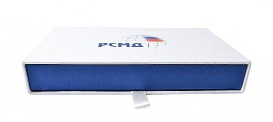 подарочная упаковка-пенал с картонным ложементом
