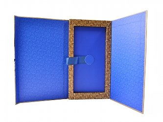 производство коробок с клапаном на магните