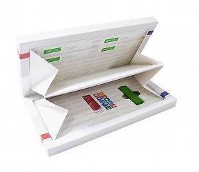 дизайнерская коробка для пластиковых карт и флешки
